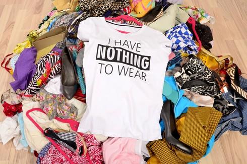 למיין, לדלל ולתרום. בארון עם מעט פריטים יש יותר מה ללבוש